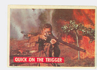 1956 Davy Crockett Green 15 Quick on the Trigger Good to Very Good