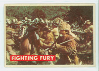 1956 Davy Crockett Green 16 Fighting Fury Fair to Poor