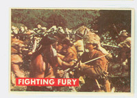 1956 Davy Crockett Green 16 Fighting Fury Good to Very Good
