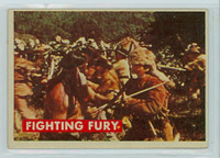 1956 Davy Crockett Green 16 Fighting Fury Very Good