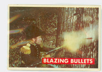 1956 Davy Crockett Green 17 Blazing Bullets Good to Very Good