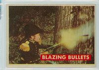 1956 Davy Crockett Green 17 Blazing Bullets Excellent