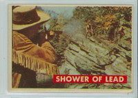 1956 Davy Crockett Green 18 Shower of Lead Excellent to Excellent Plus