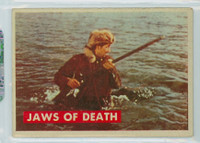 1956 Davy Crockett Green 27 Jaws of Death Very Good to Excellent
