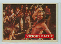 1956 Davy Crockett Green 29 Vicious Battle Very Good