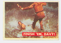 1956 Davy Crockett Green 31 Finish 'Em, Davy Very Good