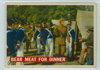 1956 Davy Crockett Orange 5 Bear Meat for Dinner Fair to Good