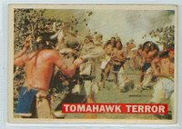 1956 Davy Crockett Orange 17 Tomahawk Terror Poor