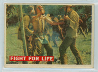 1956 Davy Crockett Orange 18 Fight for Life Very Good