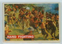 1956 Davy Crockett Orange 20 Hand Fighting Very Good