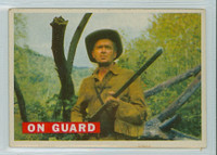 1956 Davy Crockett Orange 26 On Guard Very Good Tan Back