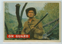 1956 Davy Crockett Orange 26 On Guard Very Good