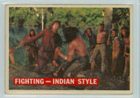 1956 Davy Crockett Orange 33 Fighting - Indian Style Good to Very Good