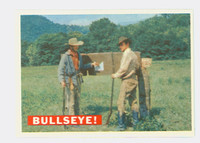 1956 Davy Crockett Orange 35 Bullseye! Excellent to Mint