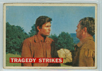 1956 Davy Crockett Orange 40 Tragedy Strikes Fair to Poor