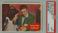 1956 Elvis 7 Presley Press Conference PSA 7 Near Mint