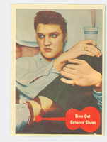 1956 Elvis 9 Time Out Bewteen Shows Excellent to Excellent Plus