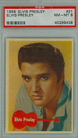 1956 Elvis 21 Elvis Presley PSA 8 Near Mint to Mint