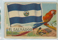1956 Flags of the World 3 El Salvador Fair to Poor