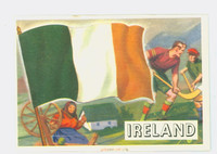 1956 Flags of the World 15 Ireland Excellent to Mint