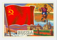 1956 Flags of the World 23 Russia Near-Mint Plus