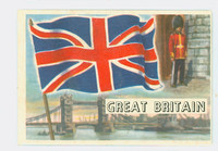 1956 Flags of the World 26 Great Britain Very Good to Excellent
