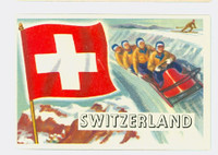 1956 Flags of the World 39 Switzerland Near-Mint