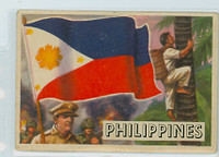 1956 Flags of the World 41 Philippines Poor