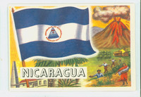 1956 Flags of the World 45 Nicaragua Excellent to Mint