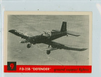 1956 Jets 9 FD-25B Defender Excellent
