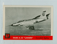 1956 Jets 17 SAAB A-32 Lansen Near-Mint