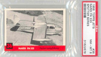 1956 Jets 36 Nardi FN333 PSA 8 Near Mint to Mint