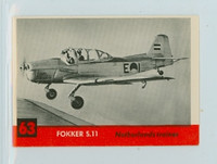 1956 Jets 63 Fokker S.11 Excellent to Mint