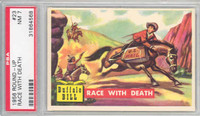 1956 Round Up 23 Race With Death PSA 7 Near Mint