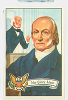 1956 U.S. Presidents 9 John Quincy Adams Excellent to Excellent Plus