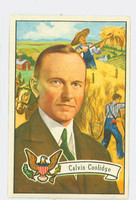 1956 U.S. Presidents 32 Calvin Coolidge Excellent
