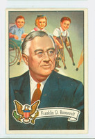 1956 U.S. Presidents 34 Franklin Roosevelt Excellent