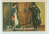 1958 Zorro 19 Zorro's Prisoner Excellent to Excellent Plus