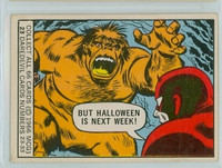 1966 Marvel Super Heroes 23 But Halloween is Next Week! Fair to Poor