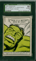 1966 Marvel Super Heroes 46 These PTA Meetings Drive Me Crazy! SGC80 Excellent Mint to Mint Plus