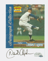 David Clyde AUTOGRAPH 1999 Fleer Greats of the Game Rangers CERTIFIED 