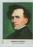 1960 Golden Press Presidents 14 Franklin Pierce Excellent
