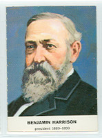 1960 Golden Press Presidents 23 Benjamin Harrison Near-Mint