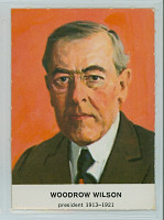 1960 Golden Press Presidents 27 Woodrow Wilson Excellent to Mint