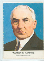 1960 Golden Press Presidents 28 Warren Harding Near-Mint to Mint