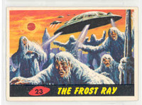 1962 Mars Attacks 23 The Frost Ray Excellent to Mint