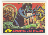 1962 Mars Attacks 33 Removing The Victims Excellent to Mint