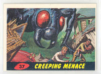 1962 Mars Attacks 37 Creeping Menace Excellent