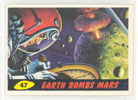 1962 Mars Attacks 47 Earth Bombs Mars Excellent to Mint