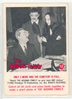 1964 Addams Family 12 Only 3 More And The Cemetery Is Full Near-Mint